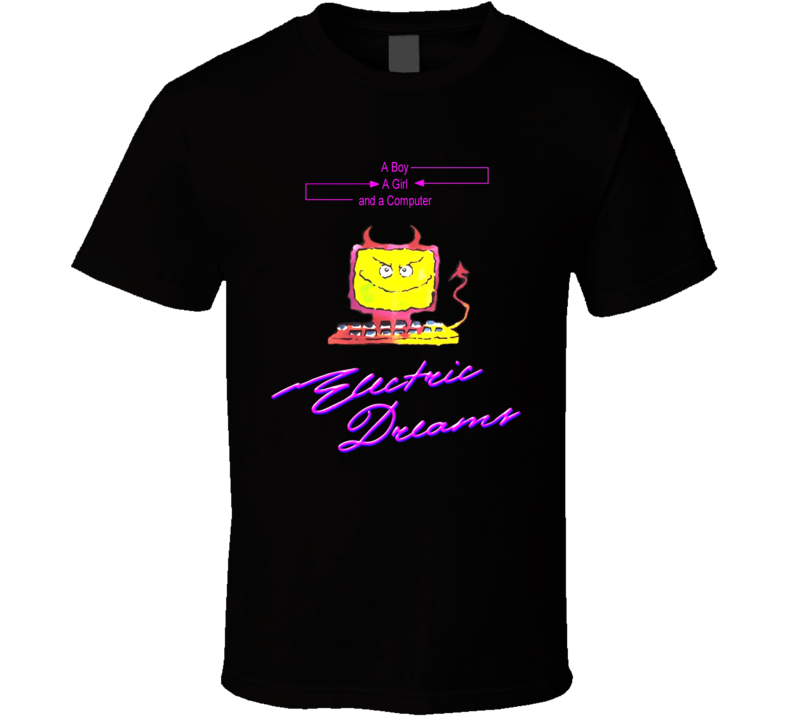 Electric Dreams Movie Computer T Shirt