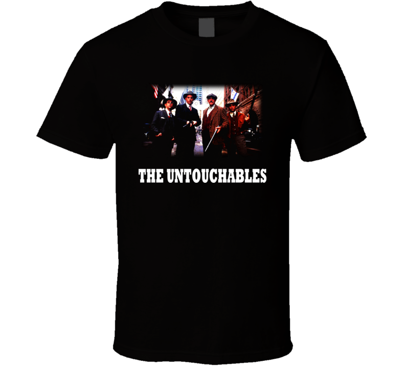The Untouchables Movie Gangsters 80S T Shirt