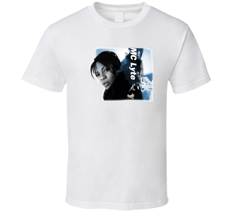 Mc Lyte Music Hip Hop Rap T Shirt