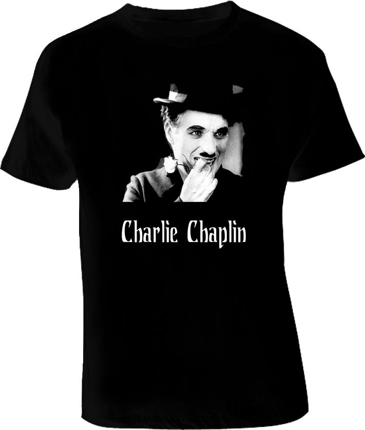 Charlie Chaplin Movie T Shirt