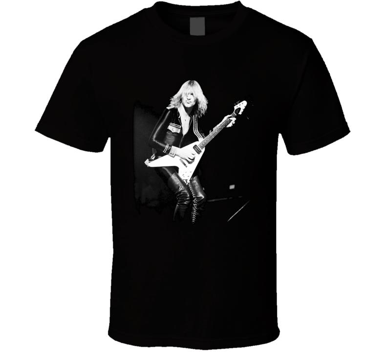Michael Schenker Scorpions Ufo Msg Guitarists T Shirt