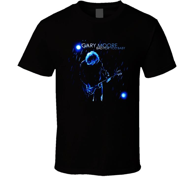 Gary Moore Thin Lizzy Guitarists T Shirt