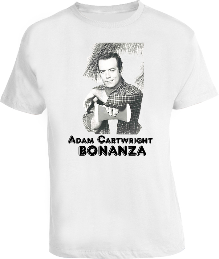 Adam Cartwright Bonanza TV Character T Shirt