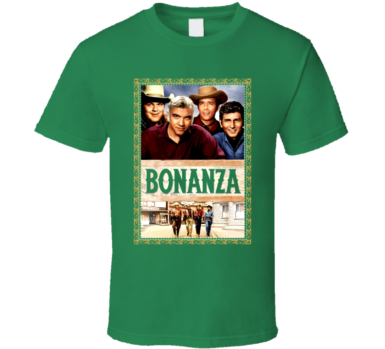 Bonanza Tv Show T Shirt