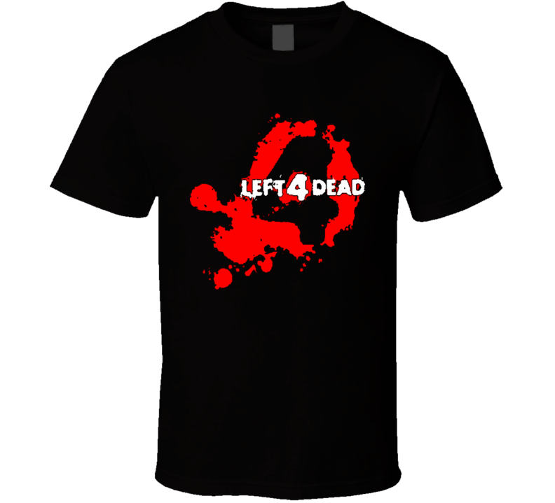 Left 4 Dead Video Game Horror Zombie T Shirt