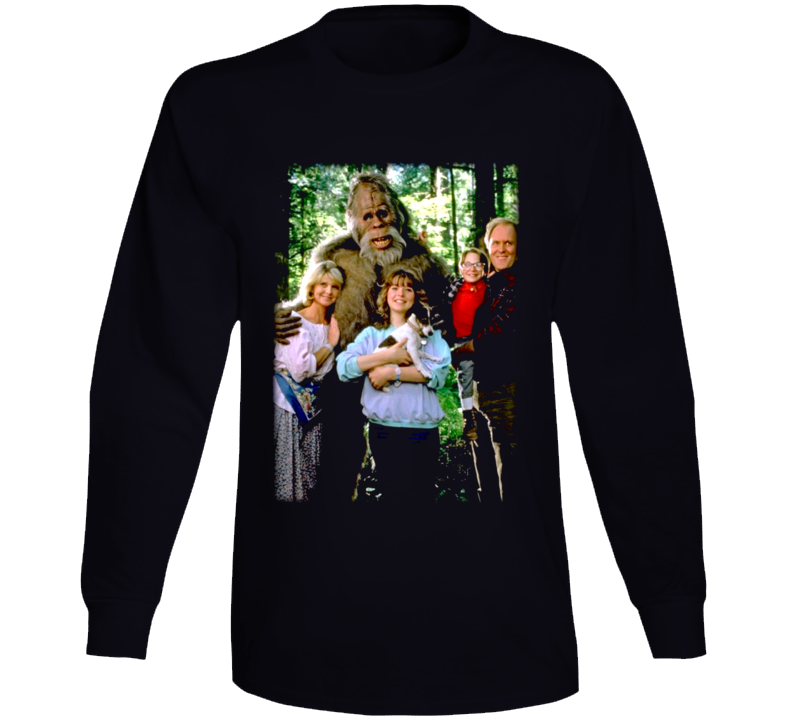 Harry And The Hendersons Movie Bigfoot Long Sleeve T Shirt