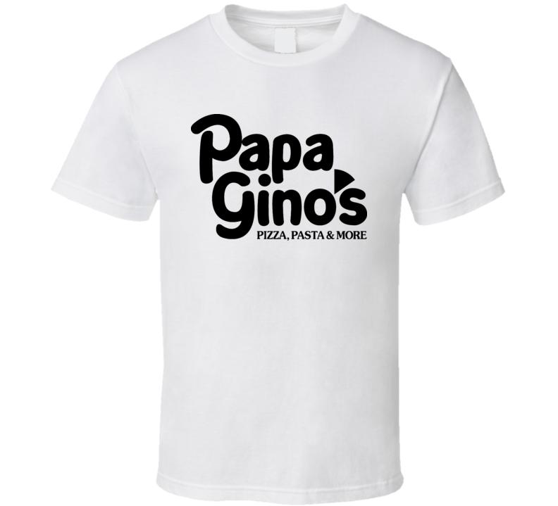 Papa Gino's Pizza T Shirt