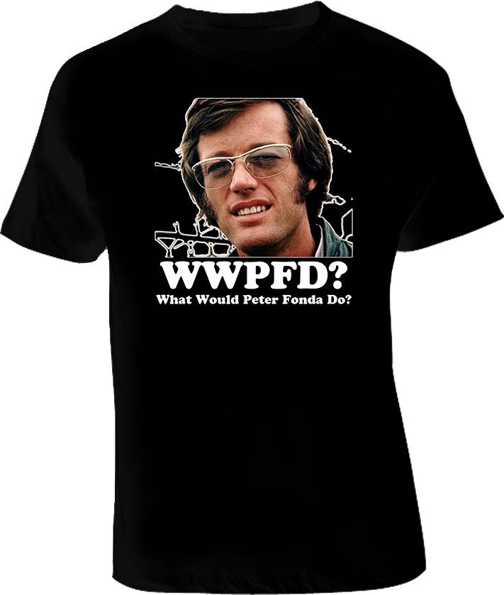 Peter Fonda Easy Rider Movie T Shirt