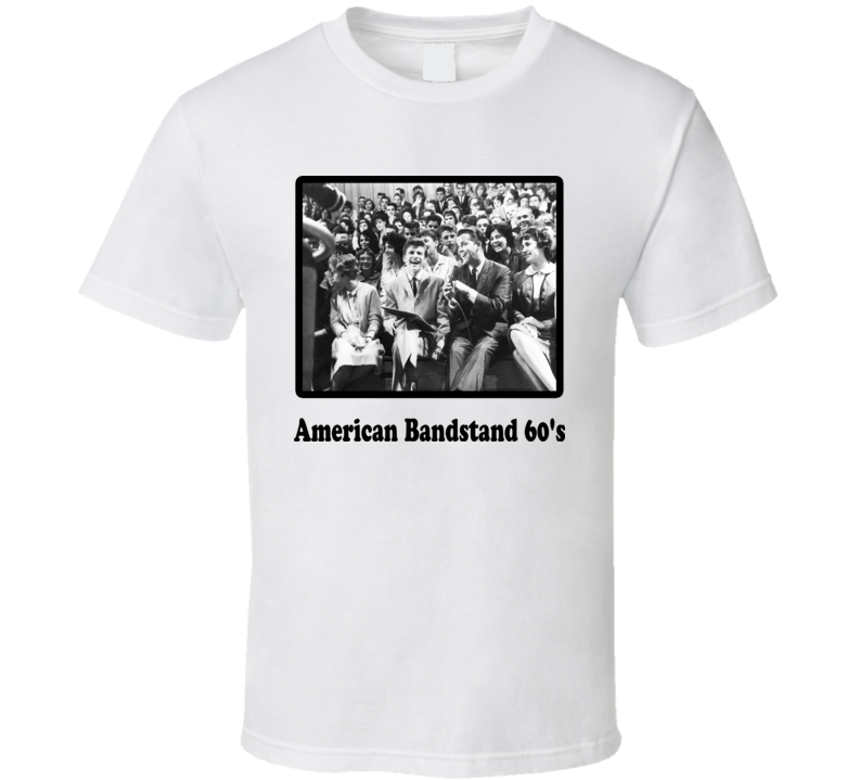 American Bandstand 1960's TV Show T Shirt