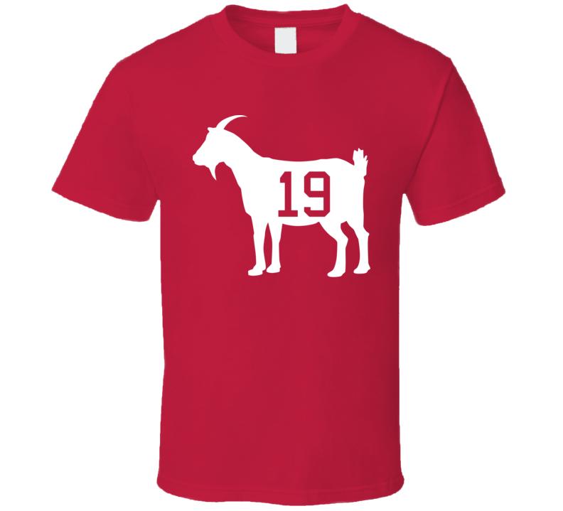 Steve Yzerman 19 Goat Hockey T Shirt