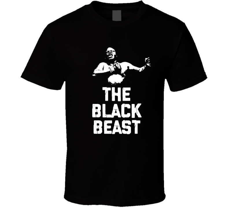 Derrick Lewis The Black Beast Silhouette Mma Fan Cool T Shirt