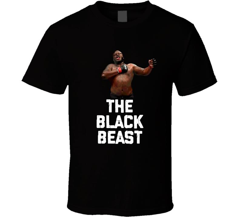 Derrick Lewis The Black Beast Mma Fighter Fan Cool T Shirt