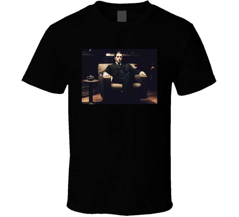 The Godfather Michael Corleone Mafia Movie Fan T Shirt