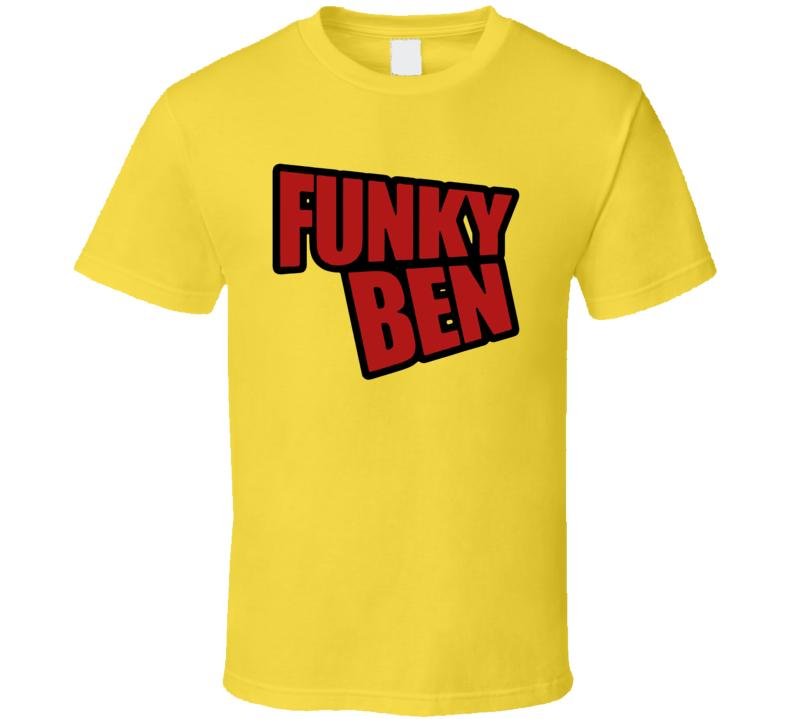 Funky Ben Asren Mma Fighter Sports Fan T Shirt