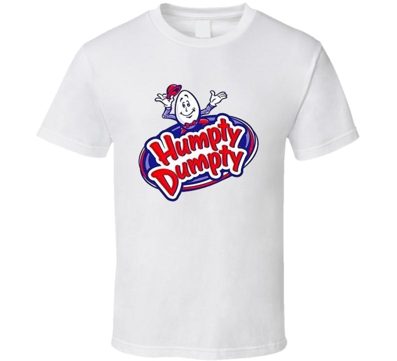 Humpty Dumpty Potato Chips Snack Junk Food Fan T Shirt