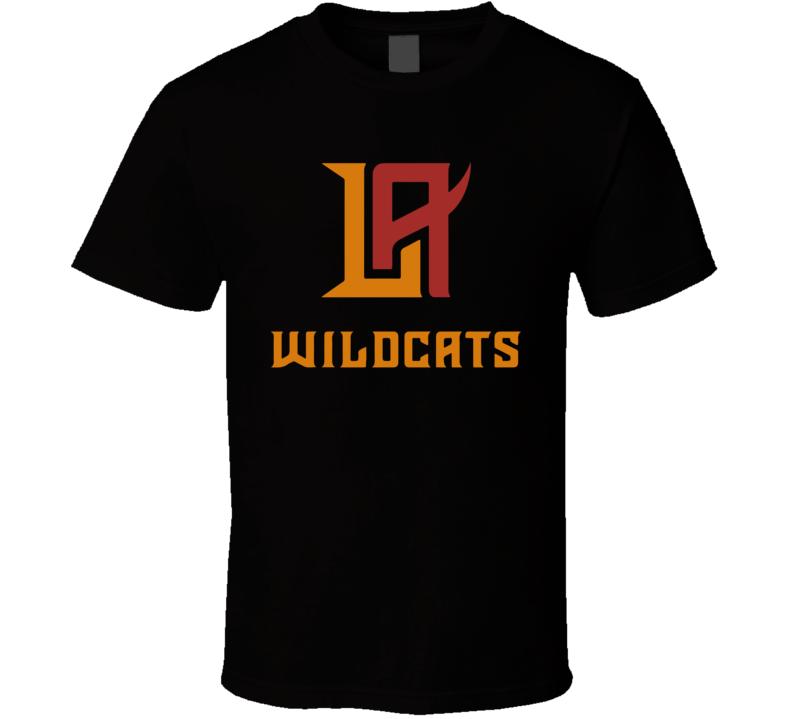 La Wildcats Xfl Team Logo Football Fan T Shirt