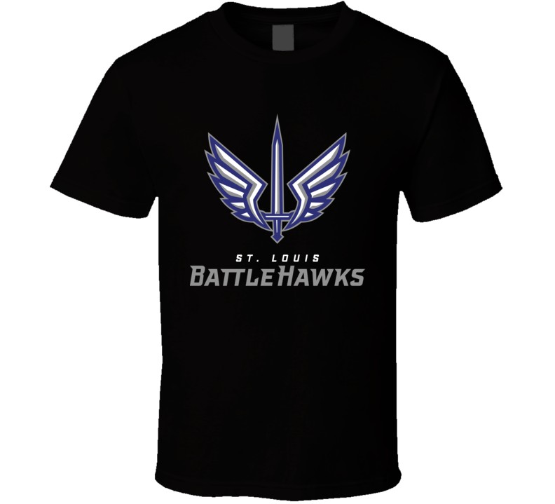 St. Louis Battle Hawks Xfl Team Logo Football Fan T Shirt