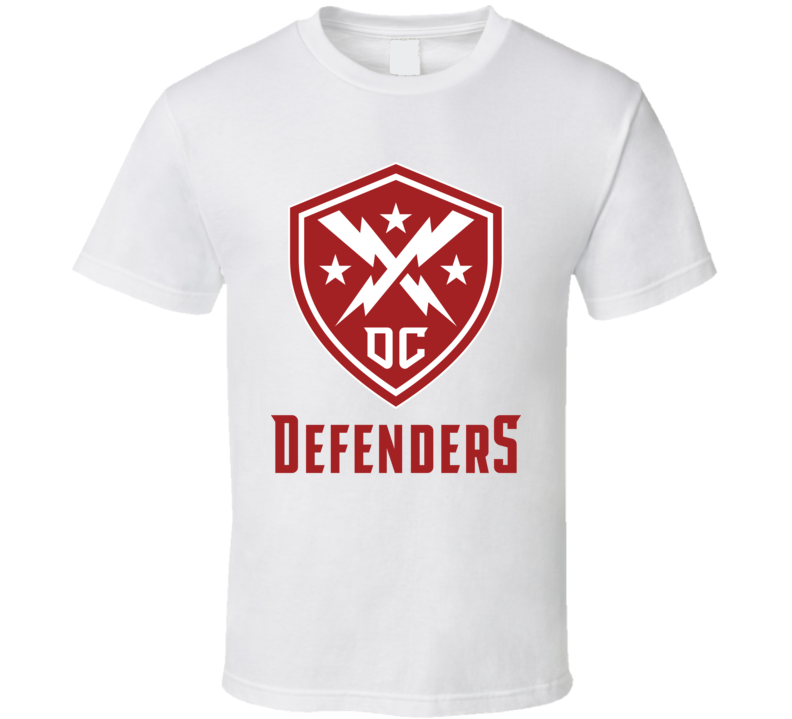 Dc Defenders Xfl Team Logo Football Fan T Shirt