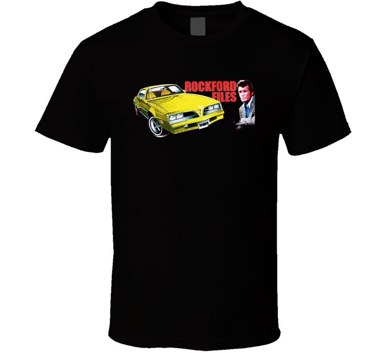 The Rockford Files James Garner TV Show T Shirt