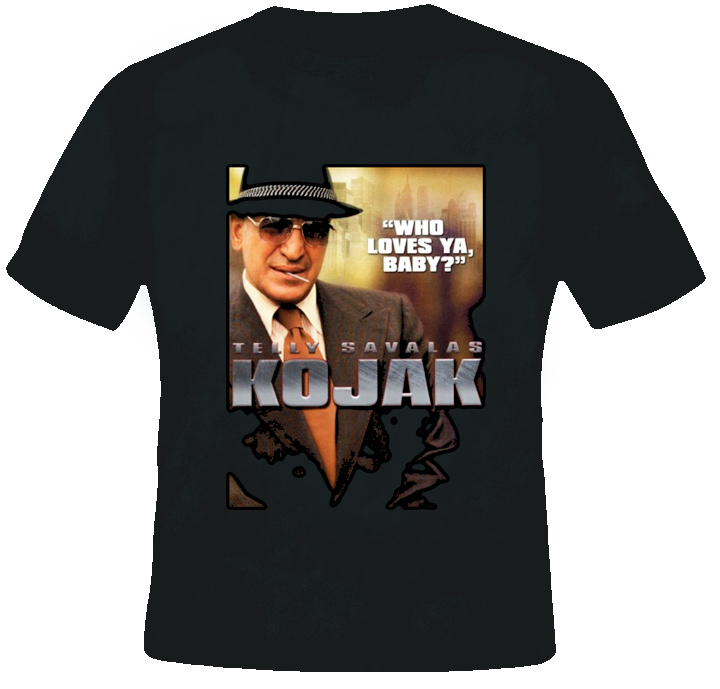 Kojak TV Show T Shirt