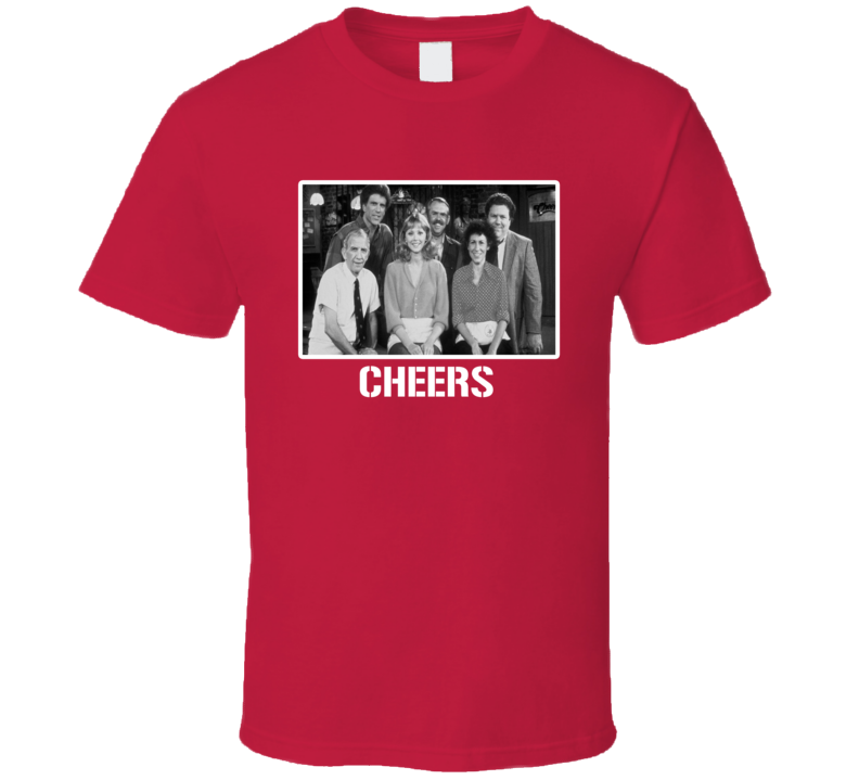 Cheers Cast Photo 80s Tv Show T Shirt