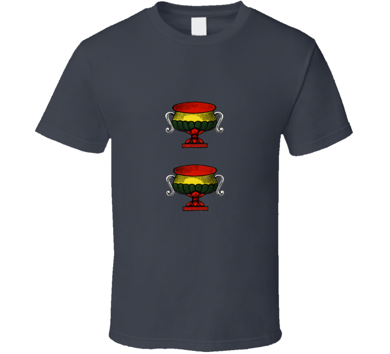 2 Two Cups Coppe Italian Cards Scopa Briscola T Shirt