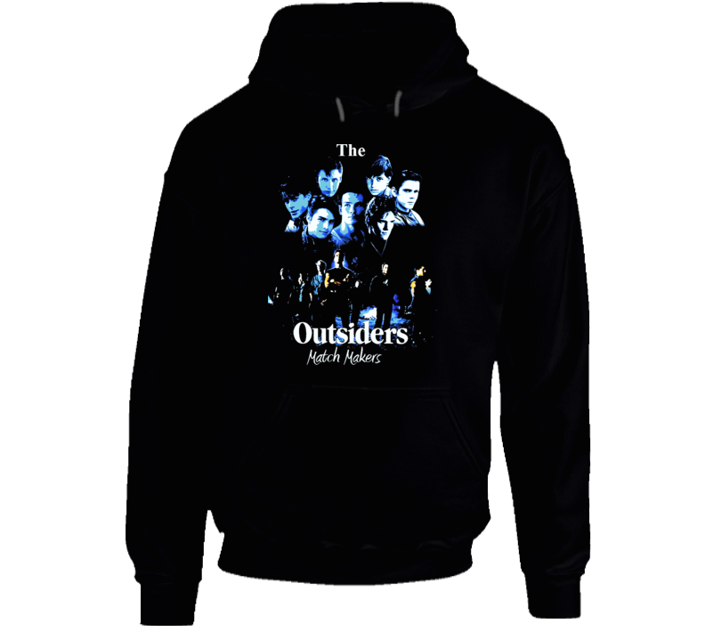 The Outsiders Movie Poster Hooded Pullover
