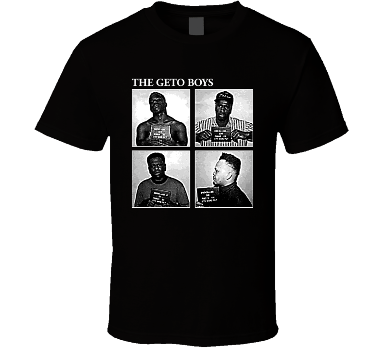 The Geto Boys Hip Hop Album Gangta Rap T Shirt