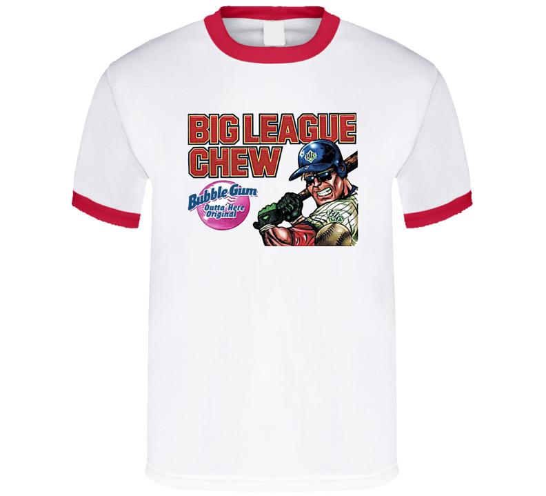 Big League Chew 80s Bubble Gum T Shirt