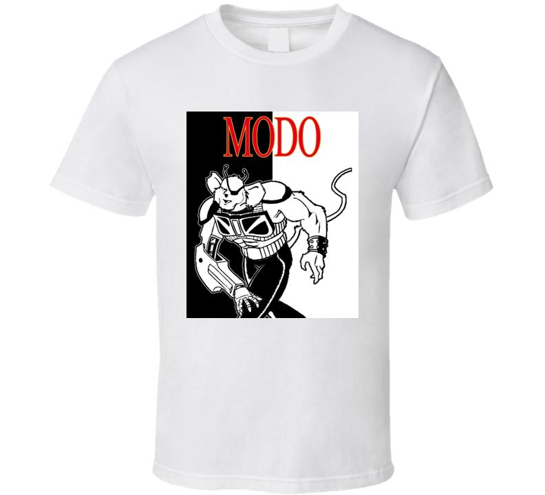 Modo Biker Mice From Mars Retro Cartoon T Shirt