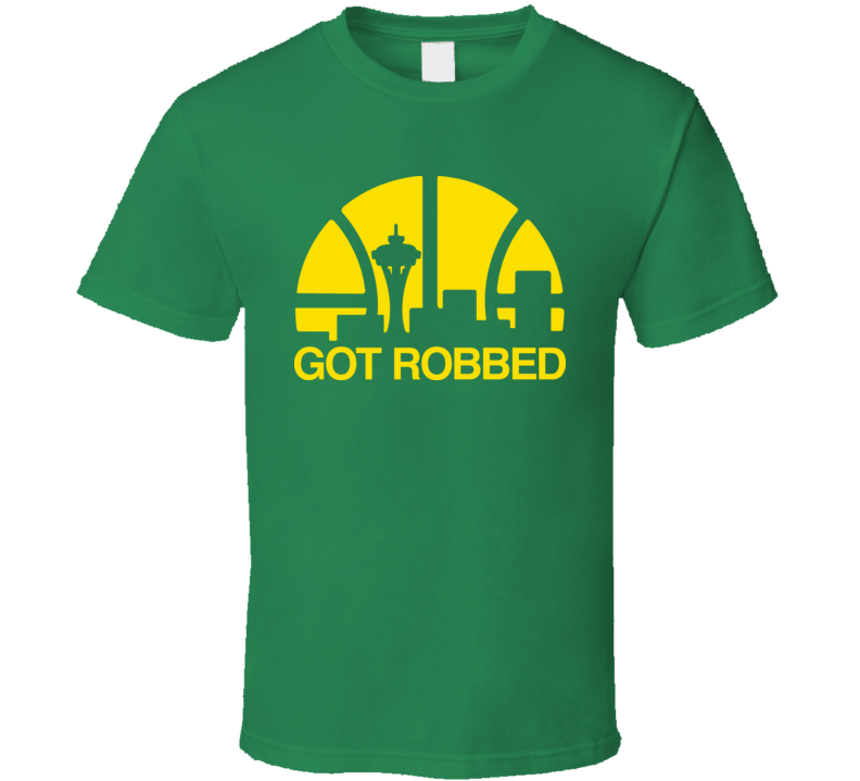 Got Robbed Seattle Basketball T Shirt