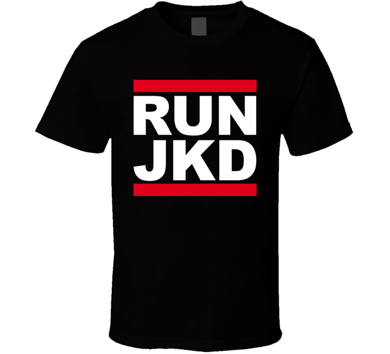 Run Jeet Kune Do Martial Arts Kung Fu Bruce T Shirt