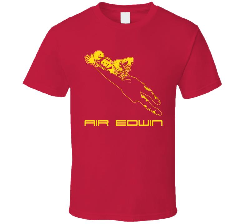 Edwin Van Der Sar Holland Dutch Man U T Shirt