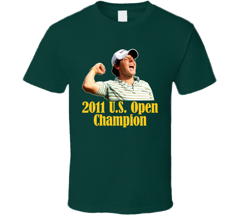 Rory Mcilroy Golf Us Open Champion 2011 T Shirt