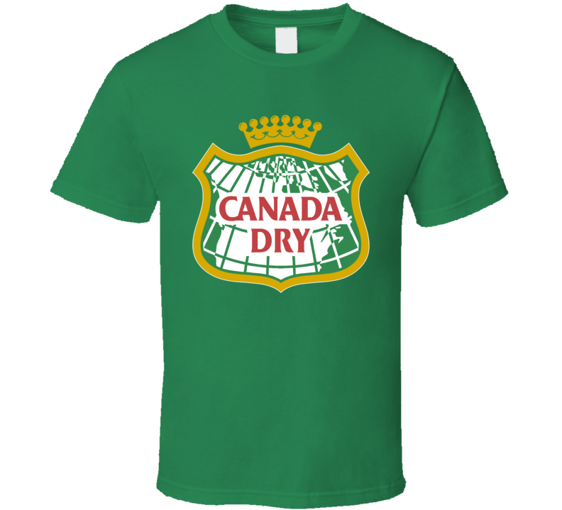 Canada Dry Gingerale Pop Soda T Shirt