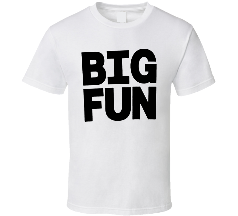 Heathers Big Fun 80s Movie T Shirt