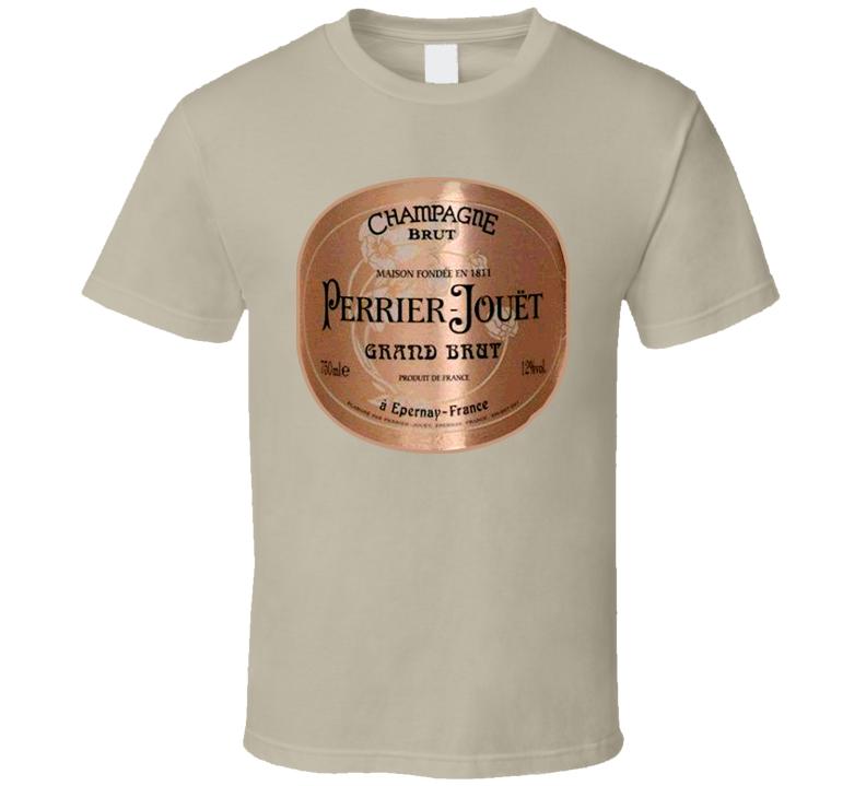 1811 Perrier-jouëtchampagne Wine Alcohol T Shirt
