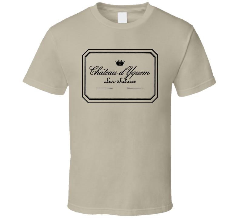 Chateau D'yquem 1811 Wine 1990 2005 T Shirt