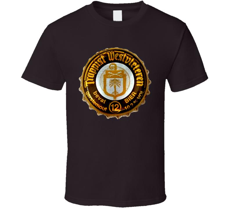 Westvleteren 12 Belgium Beer Lager T Shirt