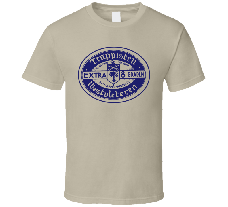 Trappist Westvleteren 8 Belgium Beer Lager T Shirt