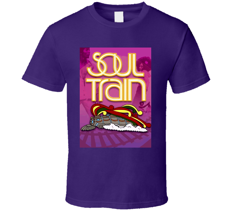 Soul Train Retro 70s Disco Motown T Shirt