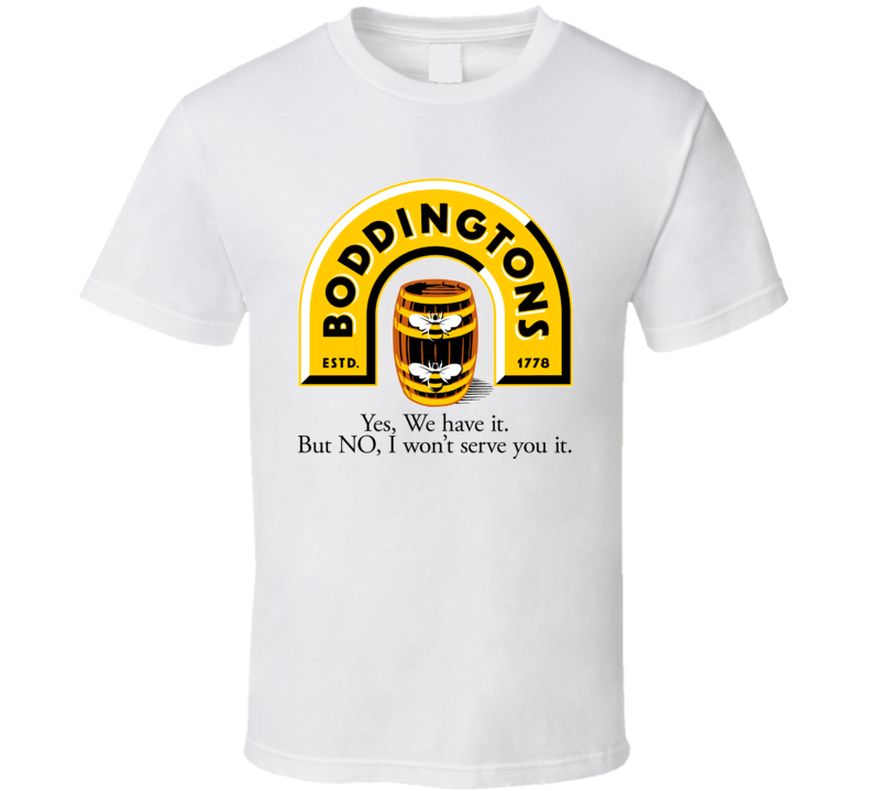 Boddingtons Beer Ale Drink T Shirt