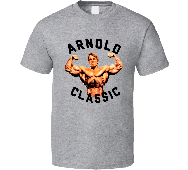 Arnold Schwarzenegger Olympic Olympian Actor Muscle T Shirt