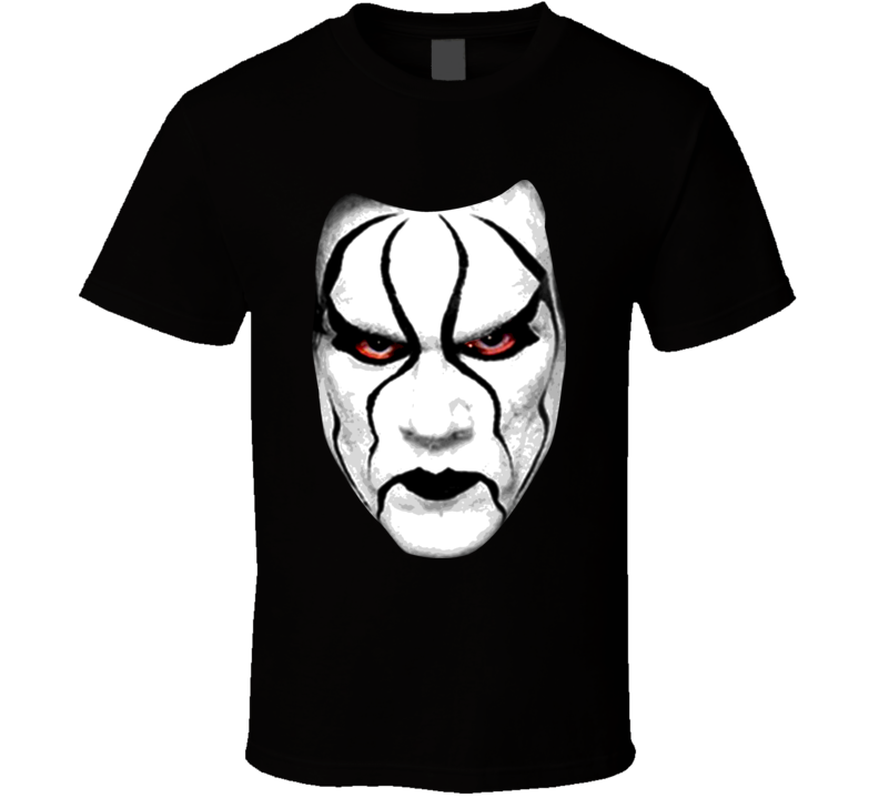 Sting Wrestling Retro Face T Shirt