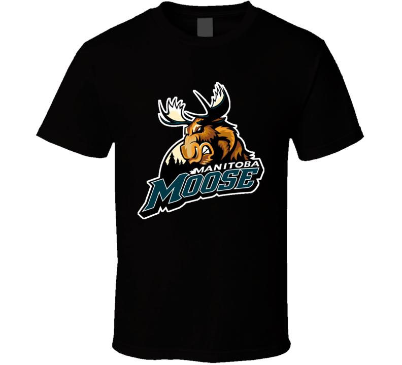 Manitoba Moose Hockey Winnipeg Retro T Shirt
