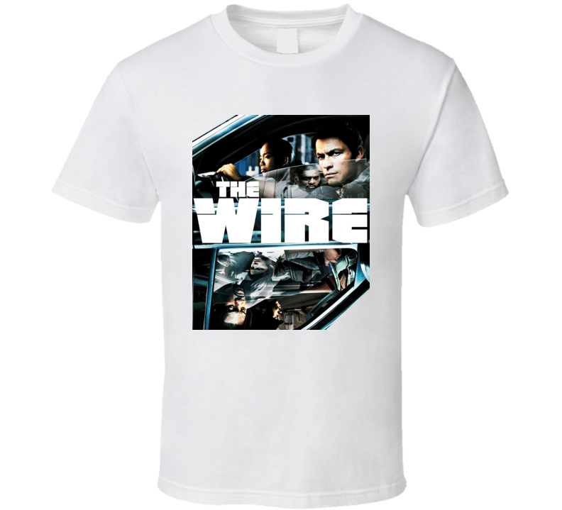 The Wire Tv Show Crime T Shirt
