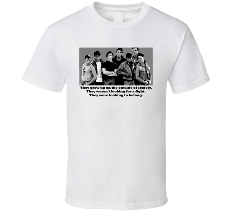 The Outsiders Movie T Shirt