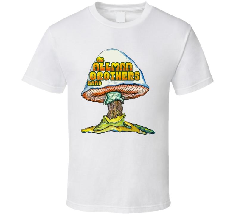 Allman Brothers White T Shirt