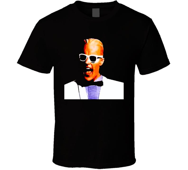 Max Headroom Tv Show 80S Retro Black T Shirt