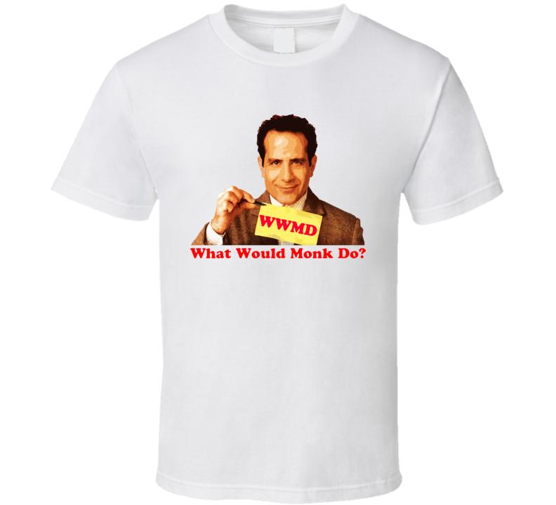 Wwmd Monk Tony Shaalhoub Tv Show Mystery White T Shirt